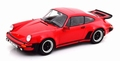 Porsche 911 ( 930 ) Turbo 1976 Rood - Red 1/18