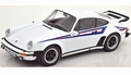 Porsche 911 ( 930 ) Turbo 1976 Wit Martini White 1/18
