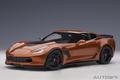 Chevrolet Corvette C7 Z06 Daytona Sunrise orange 1/18
