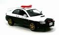 Subaru impreza WRX 2003 Police politie 1/43