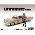 Lowriders Figure I Grijs - grey  1/18