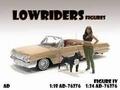 Lowriders Figure IV + dog 1/18
