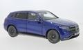 Mercedes Benz EQC 400 4 Matic Blauw Brilliant  Blue  1/18