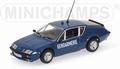 Renault Alpine A310 Gendarmerie Politie 1/43