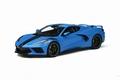 Chevrolet Corvette C8 L Blauw - L Blue 1/18