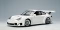 Porsche 911 ( 996 ) GT3 RSR Plain Body version Wit - White 1/18