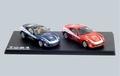 Ferrari set  F599 Panamerican red & blue 1/43