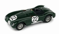 Jaguar Ctype Le Mans 1951 Moss - Fairman #22 Limited edition 1/43