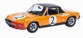 VW Porsche 914/6 # 2 Marathon de la Route 1970 1/43