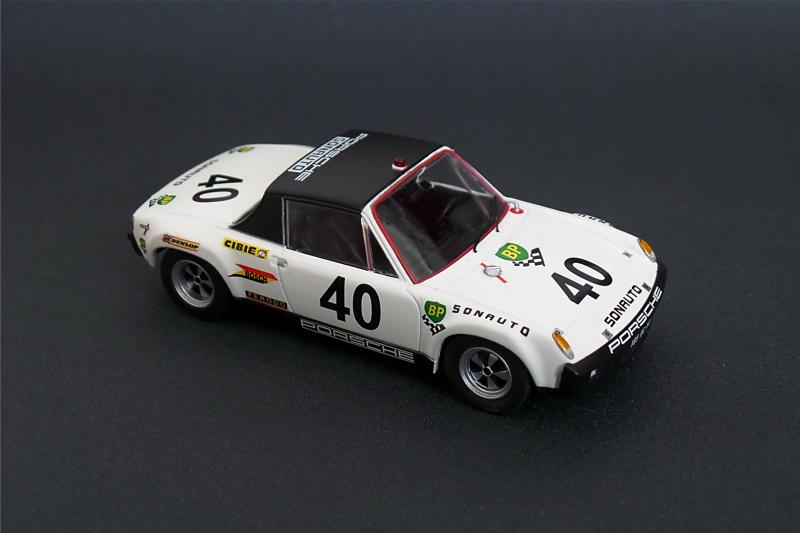VW Porsche 914/6 # 40 Le Mans 1970  1/43