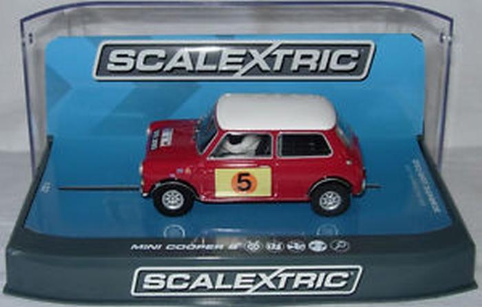 Mini Cooper S Red Rood 5 RAC Rally 1966 1 32