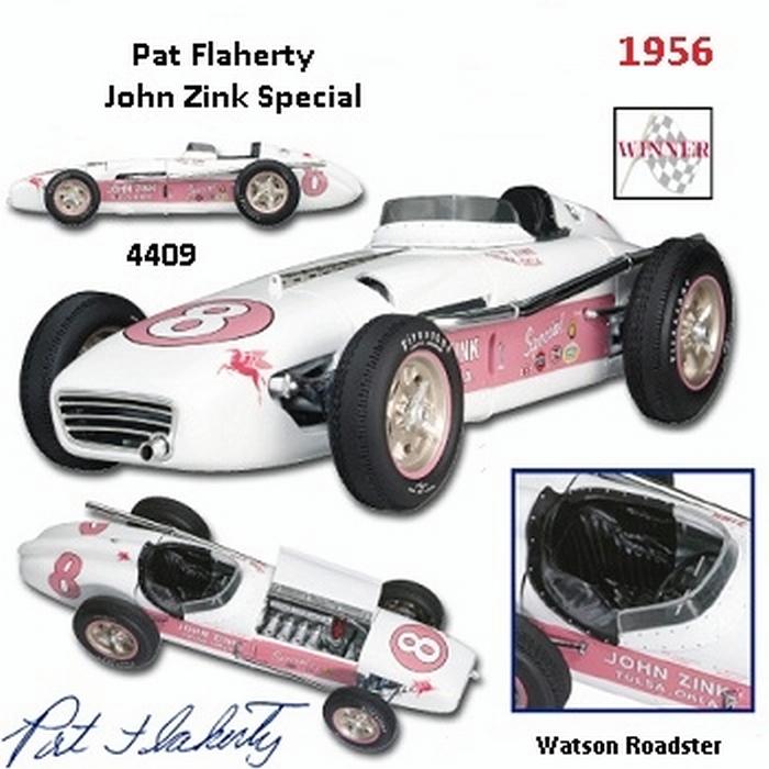 Watson Roadster 1956 Indy 500 Winner Pat Flaherty 1 18